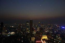 Night view from Vertigo Bar