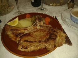Chuleton de Tenera (T-bone steak)