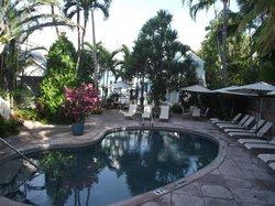 Warm pool area at Marquesa Hotel