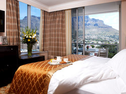 Suite bedroom Taj Cape Town