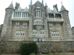 Very imposing property from the gardens