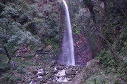 Waterfall at Tirthan Valley