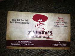 Zapatas Mexican Grill