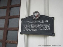 Maria Ledesma Golez Heritage Building