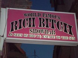 Rich Bitch Show Bar