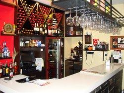 bar en la entrada