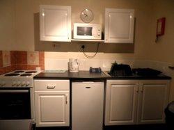 kitchen of cabin # 6