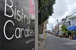 Bistrot Caraibes, on the boulevard de Grand Case in the town of that name.