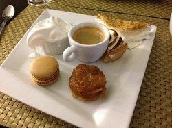 cafe gourmand du Grill Ajaccio