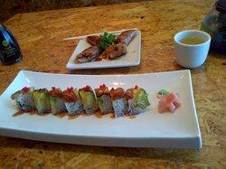 Samurai steak and sushi