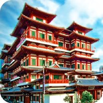 Buddha Tooth Relic Temple and Museum (Zahntempel)