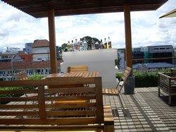 bar near swimming-pool