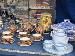 MASP antiques market