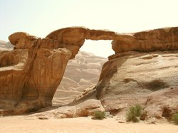 Burdah Bridge Wadi Rum