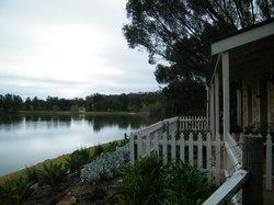 cupids cottage porch view