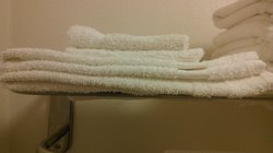 old  cheap threadbare towels