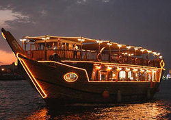 Dubai Marina Luxury Dhow Dinner Cruise