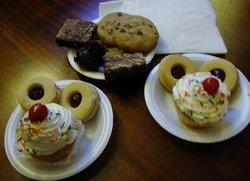 Just a sample of the delectable treats from Café de Paris.