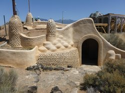 Earthship Visitor Center