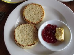 Crumble bread (English tea house)