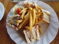 club sandwishes (english tea house)