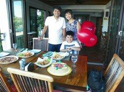Celebrating Miguel's 9th Birthday!