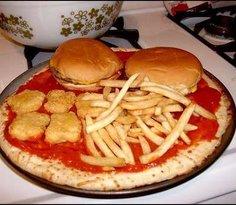 pizza y espuma