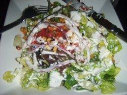 Fresh Local Ingredient Salad