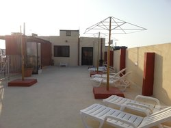tetto con solarium