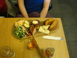 The Ploughmans with Blue Cheese