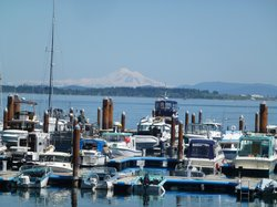 Beautiful Mt. Baker in the background