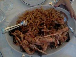 """Mezze penne  con """" il mare Adriatico nel piatto"""" ( vi garantisco che  farete anche scarpetta!!!!"""