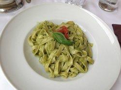 Tagliatelle with pesto 2nd visit