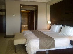 Our room with en suite