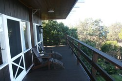 Rear balcony/deck second view