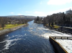 Pitlochry Dam Power Station And Fish Ladder