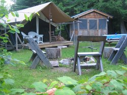 Huckleberry Tent and Breakfast North Idaho