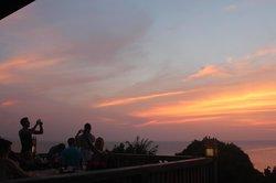 Sunset at Thongyang Seaview Restaurant and Lounge Bar,2/5/2013