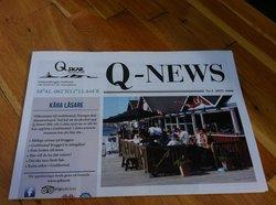 Våran nya tidning Q News med många tips och info!