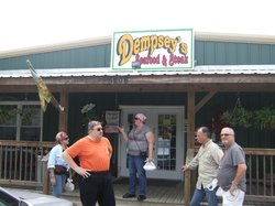 Friends at Dempsey's in Kiln, Ms