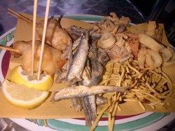 Pesce fritto e baccala