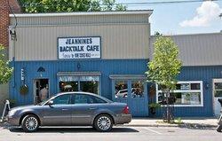 Jeannine Backtalk Cafe