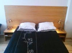 Bed (heavy blanket!)