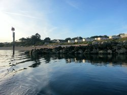 Ringstead from the water