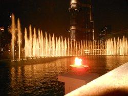 Lo spettacolo della fontana dal Thiptara