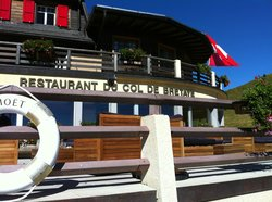 Restaurant du Col de Bretaye