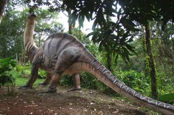 Dinosaurio del Jardín Botánico