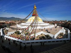 Bodhnath-stupaen