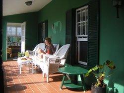 Porch of Greenbank