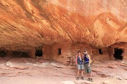 Mule Canyon Anasazi cliff dwelling ruins
